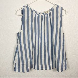 Madewell Striped Tank Top Small